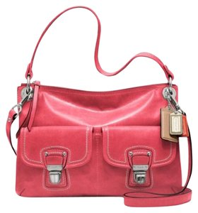 Coach New With Tags Receipt Poppy Hippie Shoulder Bag