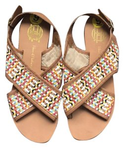 House of Harlow 1960 Brown Sandals