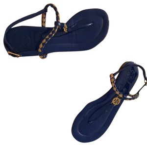 Tory Burch fluo blue Sandals