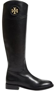 Tory Burch Knee High Riding Ashlynn Black Boots