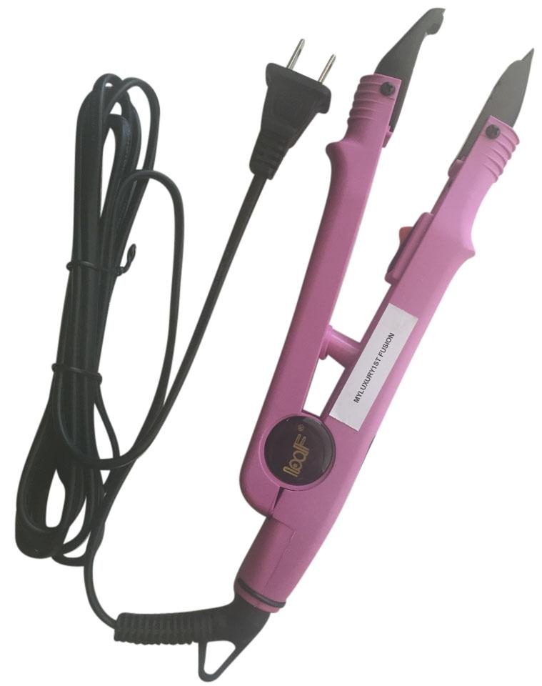 Myluxury1st Pink Us Professional Loof Extension Fusion Iron Wand For
