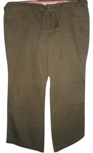 Old Navy Boot Cut Pants Army Green