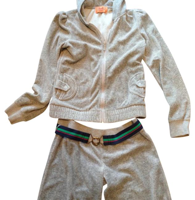 Item - Gray Puffy Sleeve and Belt and Pockets Activewear Sportswear Size 2 (XS)