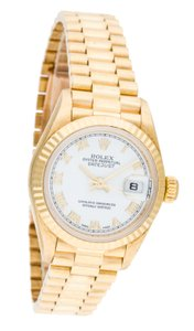 Rolex Lady's Rolex 18K Yellow Gold Datejust President 26 mm case watch