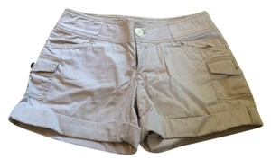 Express Summer Cuffed Shorts Khaki