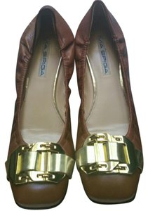 Via Spiga TAN BROWN Flats