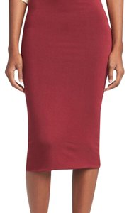 Leith Skirt red