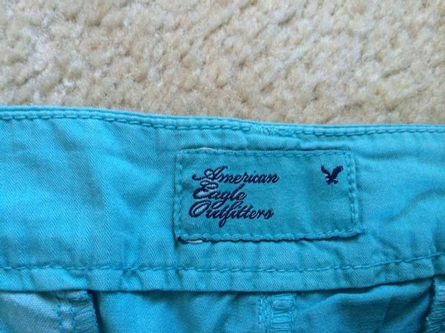American Eagle Outfitters Ae Mini/Short Shorts Blue