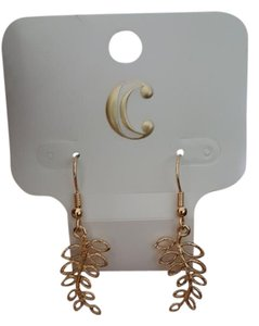 Charming Charlie Gold Tone Earrings