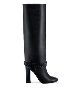 Tory Burch Sarava Knee Tall NAVY Boots