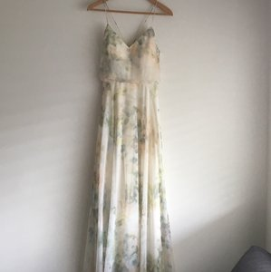 BHLDN Ivory Sage Multi Bhldn Inesse Dress By Jenny Yoo Dress