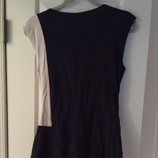 Anthropologie Top Navy And Light grey