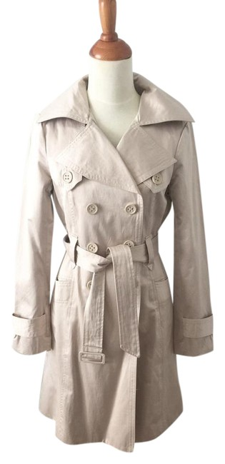 Item - Tan Nude Trench Coat Size 2 (XS)