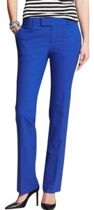 Banana Republic Dress Martin Fit Skinny Pants Royal Blue