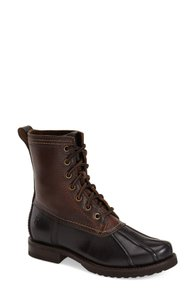 Frye Duck Black Brown Boots