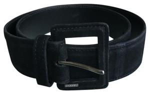 Chanel Black Chanel Belt with Metal Hardware