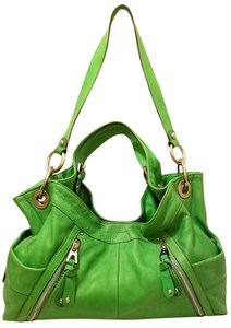 B. Makowsky Refurbished Leather Convertible - Hobo Cross Body Bag