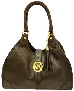 Michael Kors Refurbished Leather Extra-large Lined Hobo Bag