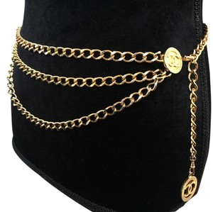 Chanel CHANEL Vintage 80's Chain Belt/Necklace