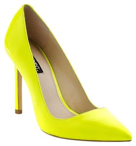 Shoemint Neon Yellow/Lime Pumps