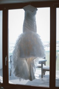Dennis Basso Dennis Basso For Kleinfeld Fit And Flare Wedding Gown Wedding Dress