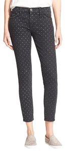 Current/Elliott Current Elliott Cropped Capri/Cropped Pants Black