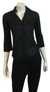 James Perse James Joie Frame Denim Vince Theory Top BLACK