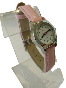 Timex Timex T79081 Kids/Ladies Easy Reader white dial pink leather watch