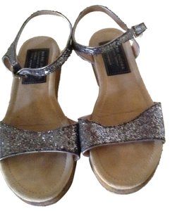 Marc Jacobs Pewter Sandals
