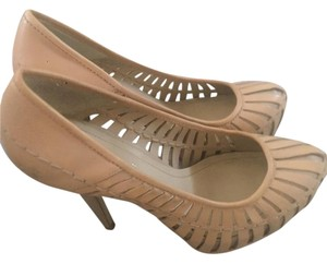 BCBGeneration Tan Pumps