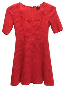 Urban Outfitters short dress Coral on Tradesy