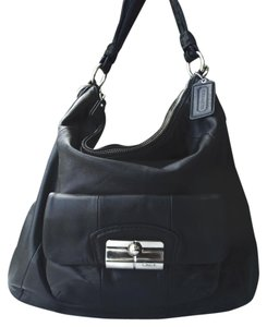 Coach Kristin Leather Large Hobo Bag