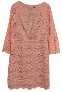 Vince Camuto Bell Sleeves Bell Lace Vince Peach Dress