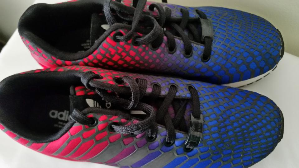 adidas Blue Red Multi Zx Flux Xeno Sneakers 21240252