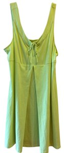 Eastern Mountain Sports short dress NEON YELLOW Water Cover Up Sundress on Tradesy