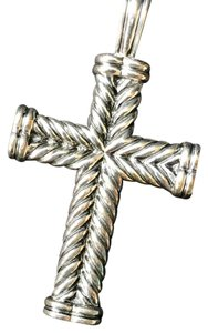 David yurman crosses up to 70 off at tradesy david yurman cross pendant mozeypictures Images