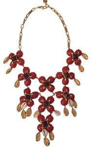 Tory Burch Luca shell statement necklace