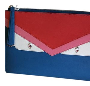 Fendi blue Clutch