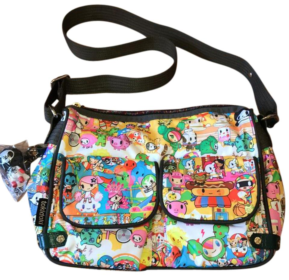 Tokidoki Multi Color Messenger Bag