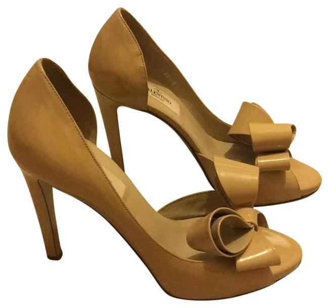 Item - Nude Couture Bow D'orsy Formal Shoes Size US 6.5 Regular (M, B)