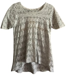 Anthropologie Summer Spring Lacy Sweater
