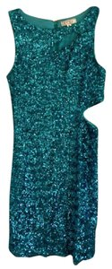 TCEC Sequin Cutout Dress