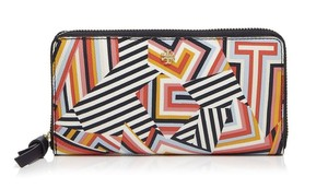 Tory Burch NEW Tory Burch Kerrington Zip Around MULTI COLORED Continental Wallet