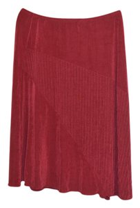Citiknits Skirt Red