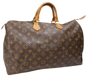 Louis Vuitton Speedy 40 Handbag Tote in Monogram