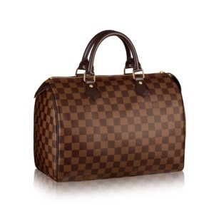 Louis Vuitton Satchel in Damier Ebene Canvas