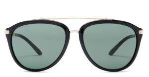 Versace Versace Women's Black Aviator Brow Bar Sunglasses
