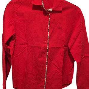 Burberry London Top red