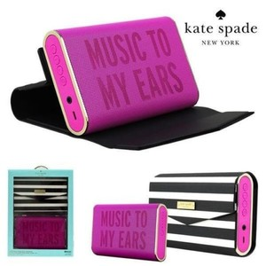 Kate Spade Kate Spade Bluetooth Portable Wireless Speaker With Cover