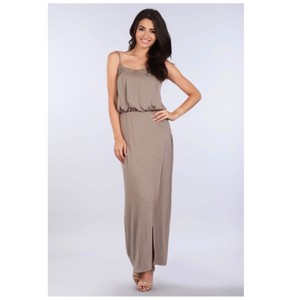 Dark Mocha Maxi Dress by York Couture